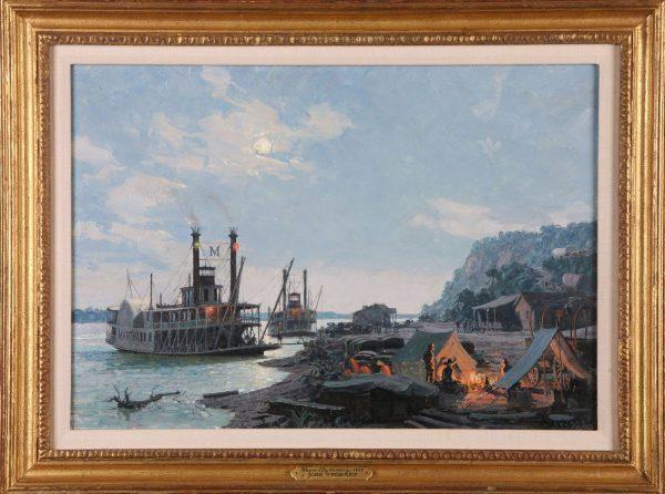 Wayne City Landing, 1842 (Independence)