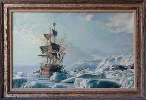 Whaling Bark Charles W. Morgan, The